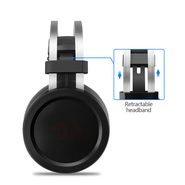 Redragon SCYLLA H901 Gaming Headphones Gamer Surround Pro Wired Computer Stereo headset Earphones With Microphone For PC PS4 2