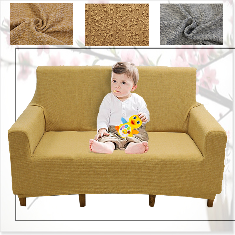 Print Solid Stretch Stretchy Sectional Sofa Covers For Single Two Three  Four Seats Soft Slipcovers Elastic Couch Cover 1 Piece