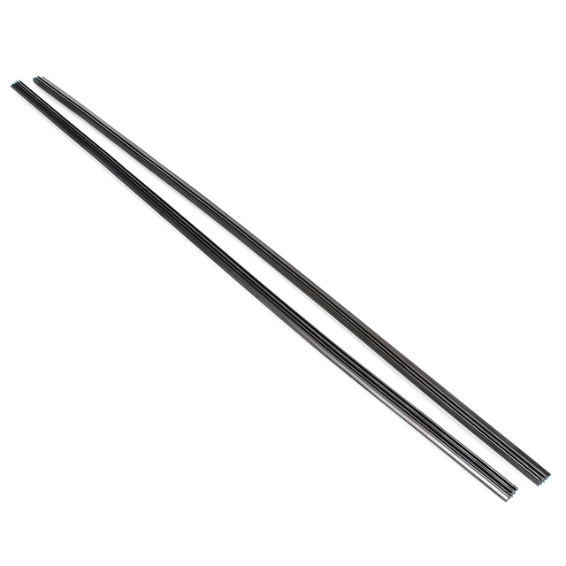 "2 pcs 28 ""6mm Borracha Refil Do Limpador Lâmina de Borracha Do Carro Universal Limpador Frameless Lâmina Recargas"