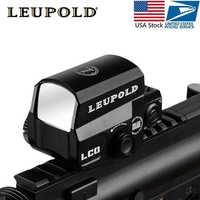 Livraison directe LCO Tactische point rouge visée portée de fusil Jacht portées réflexe vue Met 20mm Rail Mount Holografische Zicht