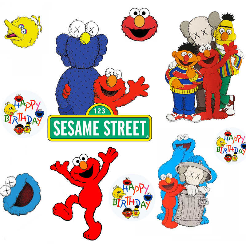Nengdou Y92 Sesame Street Badge Acrylic Badge For Clothes Backpack Icon Cute Brooch Street Fashion Pin Decoration For Children