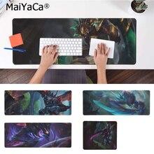 лучшая цена MaiYaCa Non Slip PC KHA'ZIX  LEAGUE OF LEGENDS Beautiful Anime Mouse Mat Free Shipping Large Mouse Pad Keyboards Mat