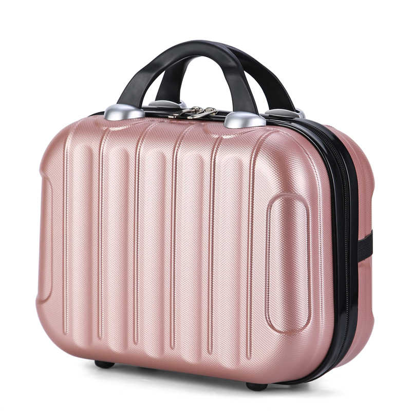 Travel Makeup Bag Fashion Large Capacity Cosmetic Case Women Necessary Waterproof Make Up Suitcase