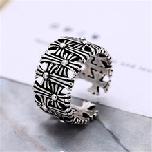 цены на 925 sterling silver Opening a finger ring Personality to restore ancient ways Women's fashion jewelry wholesale  в интернет-магазинах