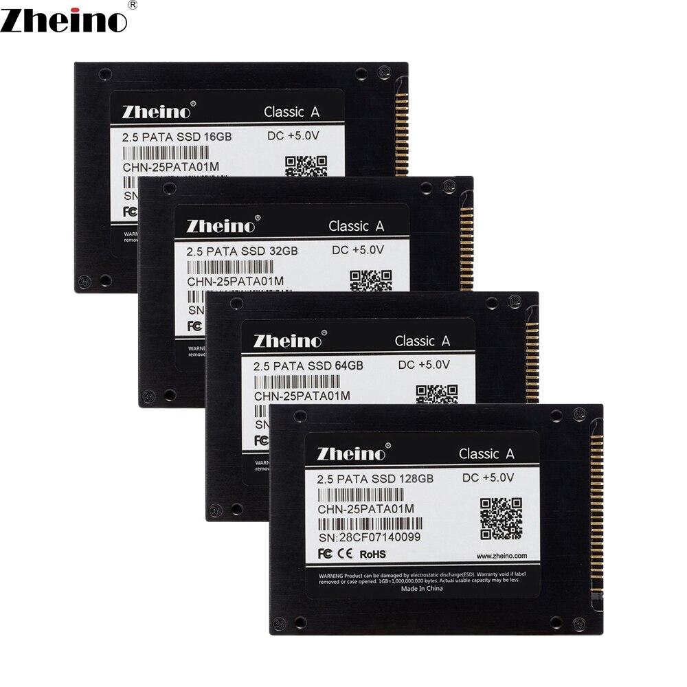 Zheino 2.5 pouce 44PIN IDE PATA 16 gb 32 gb 64 gb 128 gb SSD Interne Solide Disque 2D MLC Disque Dur Pour Ordinateur Portable X31 X32 T41