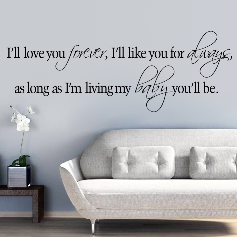 Living Room Sayings online get cheap inspirational wall quotes -aliexpress