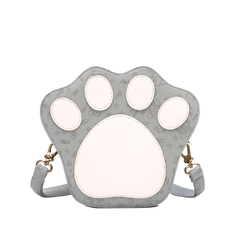 2016 New Personality Bear s Paw Shaped Ladies Messenger Bag Fashion Paw Shoulder Bags For Teenage