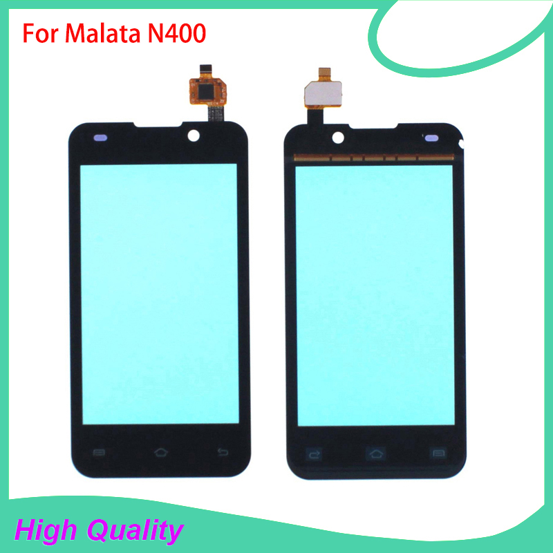 100% Guarantee Touch Screen Digitizer Assembly For Malata N400 400 High Quality Mobile Phone Touch Panel Free Tools