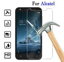 HD CLEAR กระจกนิรภัยสำหรับ Alcatel 1S 2019 3 3L 2019 สำหรับ Alcatel U5 5V 3X3 V 3C 1X5 7 ฝาครอบโทรศัพท์ฟิล์ม
