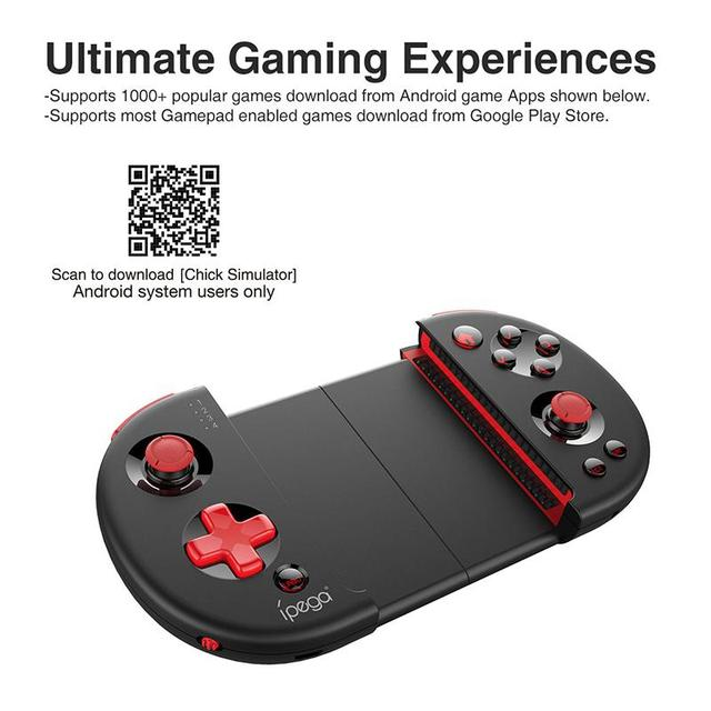 US $28 99 20% OFF|IPEGA PG 9087 Bluetooth Android Gamepad Wireless Gamepad  PC Joypad Game Controller Joystick For PUBG/Knives Out r20-in Gamepads from