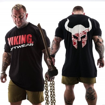 T-shirt Homme Fitness VIKING