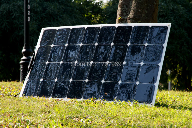 100W portable and flexible solar panel pv solar module supplied by solar panel manufacturer