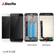 цена Original LCD Display For Xiaomi Mi A1 5X MIA1 Touch Screen Digitizer with Frame Complete Full Assembly Replacement Parts 5.5''
