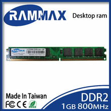 Desktop Memory Ram1GB DDR2 LO-DIMM 800Mhz PC2-6400 240-pin/CL6/1.8v high compatible with all brand motherboards free shipping