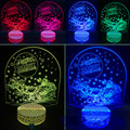 3D Night Light Led Light Colorful Change Desk Lamp As Home Decor Bedroom Reading Nightlight Christmas Tree Light Creative Gifts