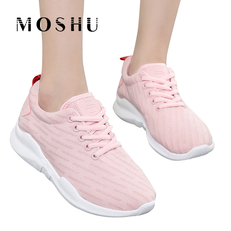 Fashion Sneakers Women Lace Up Casual Shoes ladies Air Mesh Trainers Basket Femme Wedges Ladies Canvas Shoes 2017brand sport mesh men running shoes athletic sneakers air breath increased within zapatillas deportivas trainers couple shoes