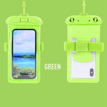 Swimming Arm Bag Waterproof Mobile Phone Armbands Bag Touch