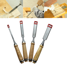Wood Color 4pcs/Set Carving Knife Engraving Suit Tools Practical Sturdy Durable Woodworking Chisels Carpentry Carpenter Chisel