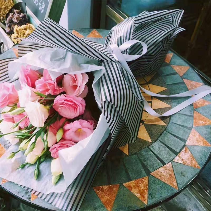 fleur papier d'emballage-achetez des lots à petit prix fleur