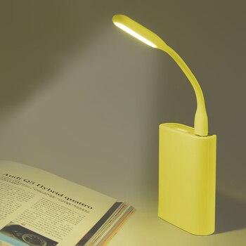 Mini lámpara LED USB portátil 5V 1,2 W Lámpara de lectura de luz de libro súper brillante para banco de energía PC Laptop Notebook accesorios de coche