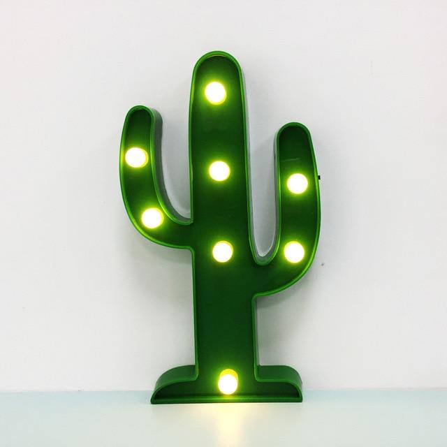aliexpress koop leuke 3d cactus night led lamp kinderkamer