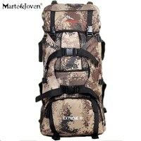 90L Large Capacity Multifunction Men Trekking Backpack Camouflage Tactical Knapsack Durable Unisex Outdoor Camp Travel Backpacks