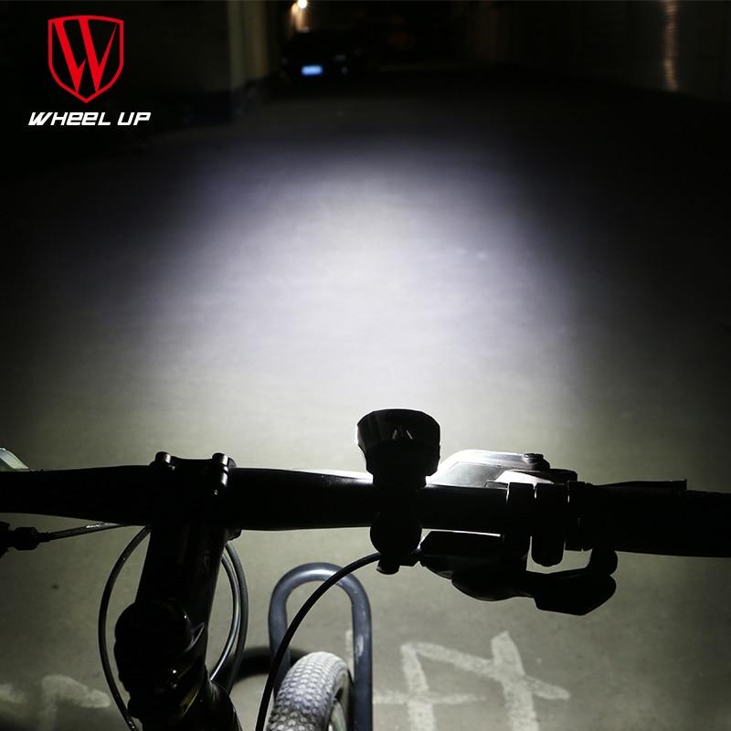 WHEEL UP LED USB įkraunamas dviračio priekinis dviračio priekinis - Dviratis - Nuotrauka 3