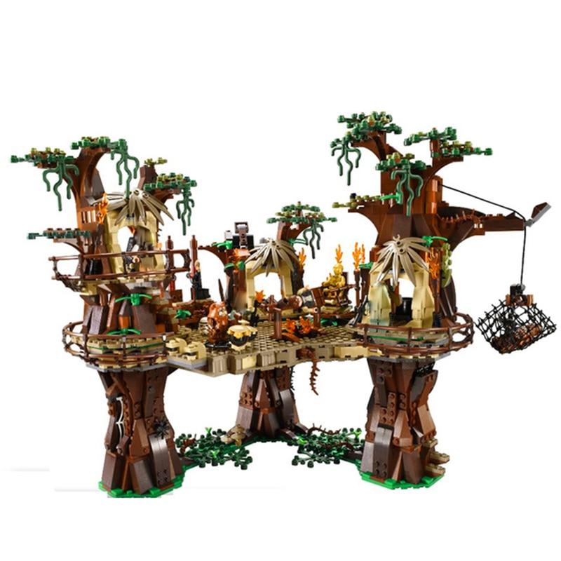 lele-05047-star-series-war-ewok-village-virgin-forest-model-building-blocks-bricks-font-b-starwars-b-font-10236-kids-education-toys-gift