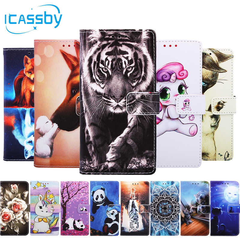 Flip Leather Cover Case for Samsung Galaxy A10 Leather Case Flip Cover Magnetic Wallet Phone Cover for Samsung A10 Book Case
