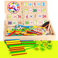 New Montessori Teaching Aids Multifunctional Math Operation and Drawing Box Learning Preschool Early Childhood Educational Toys