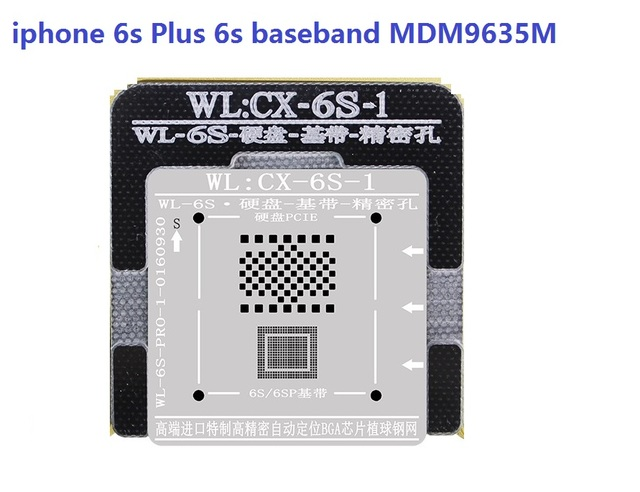 sale retailer e6b1f 71241 US $15.5 |for iPhone 7 6s 6 MDM9645M MDM9635M MDM9625M MDM9615M iphone  baseband cpu reball kit,repair error 50/47/3/ 1/1-in Tool Parts from Tools  on ...