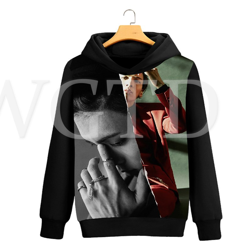 Cayyon 3D Printing Hoodie Women and Men Lovers Crown Dog Long Sleeve Hat Clothes