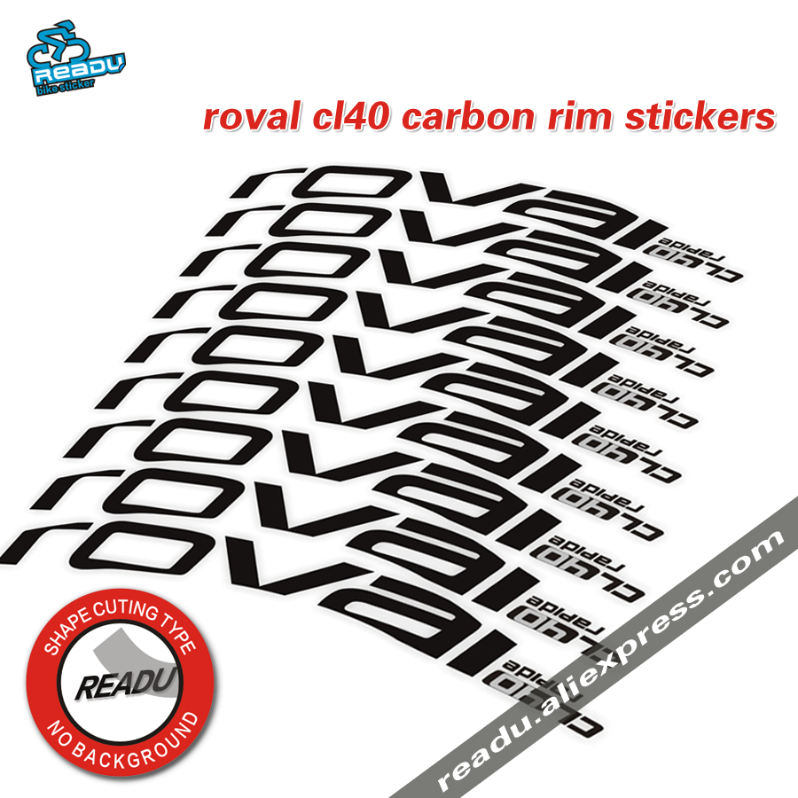 roval cl40 road bike wheel rim stickers new roval carbon rim decals for 40C rim stickers