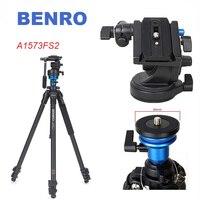 BENRO A1573FS2 Professional Video Camera Tripod S2 Photo/Video Head Aluminum Tripod for Photography/DSLR Camera Stand