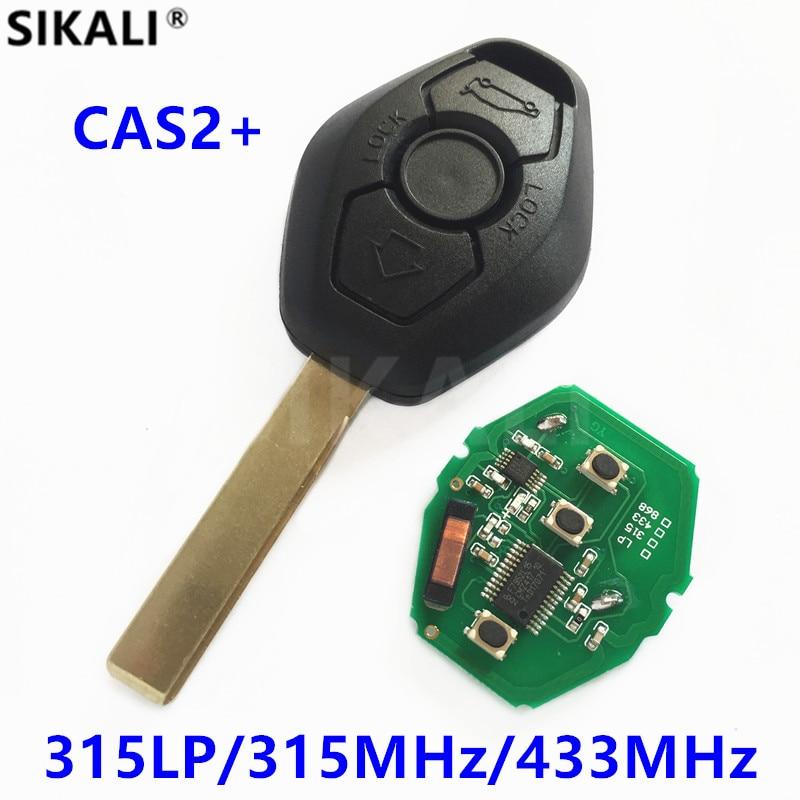 Дистанционный Автомобильный ключ для BMW, система CAS2, чип PCF7945, 315LP/315 МГц/433 МГц для X3 X5 Z3 Z4 Z8 серии 3/5/6/7, лезвие HU92