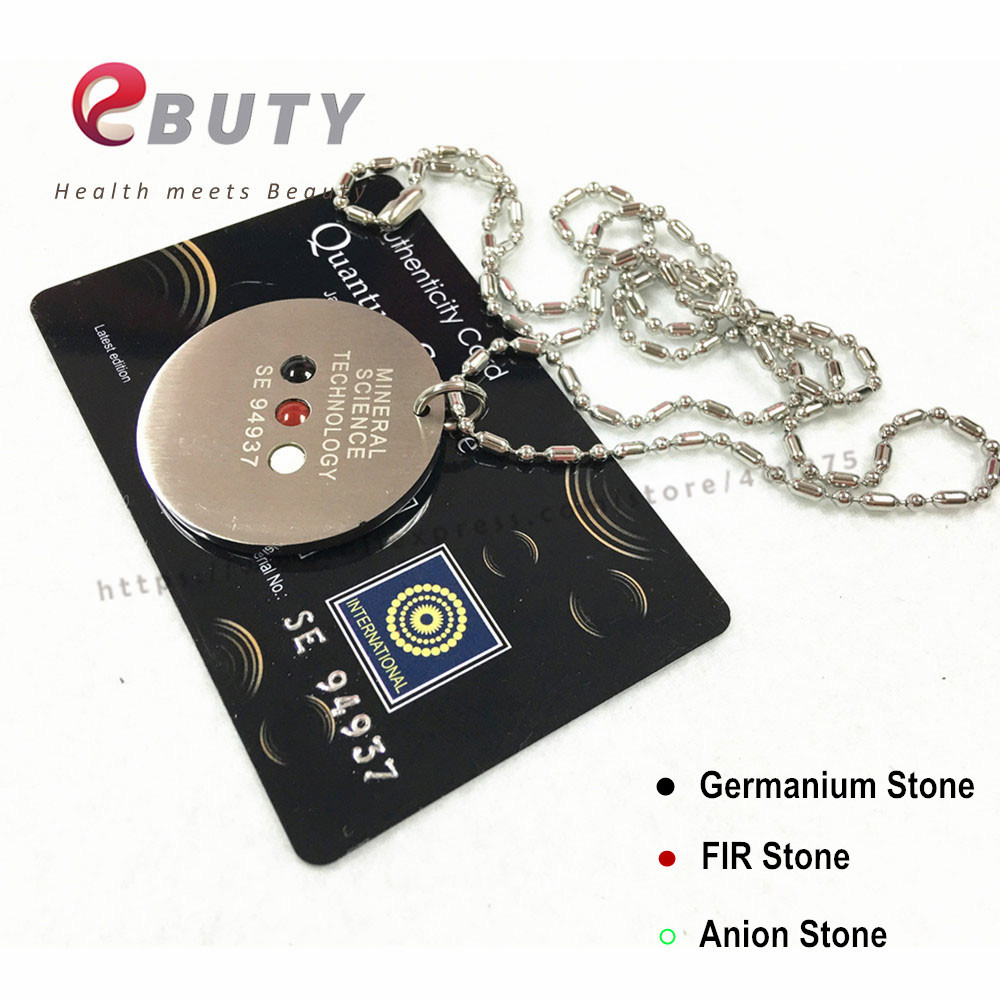 Ebuty mst pendants stainless steel energy pendant with germanium fir ebuty mst pendants stainless steel energy pendant with germanium fir stone chain fashion health jewelry in pendants from jewelry accessories on aloadofball Images