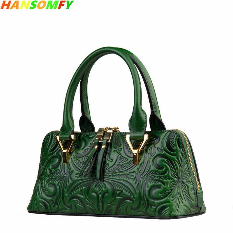 2018 New women Genuine Leather Shell Bags luxury fashion Handbags ladies  Shoulder Bags female vintage crossbody 942ed02210