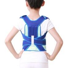 SIRSENAR Children Kids Adjustable Magnetic PostureCorrector Belt Body Back Support Shoulder Belt Brace Therapy For Health Care