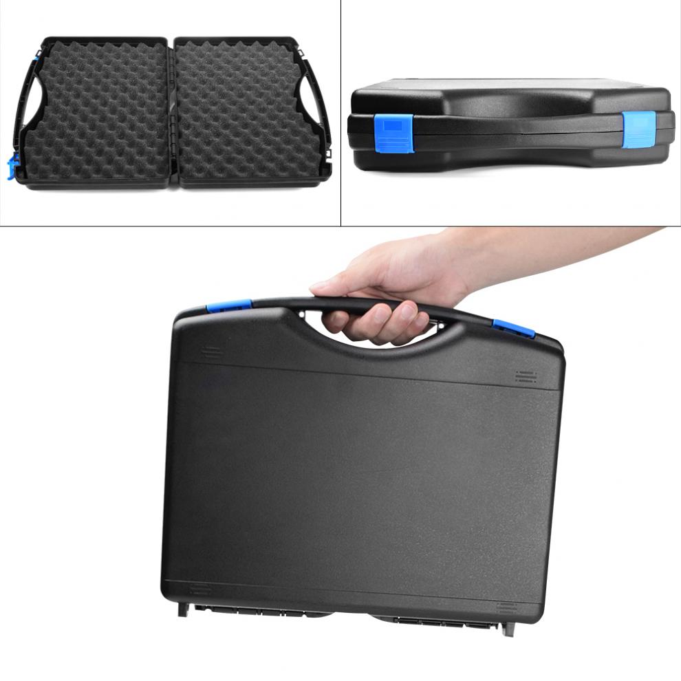 universal caixa de armazenamento plastico a prova dwaterproof agua preto anti queda caso de armazenamento adequado