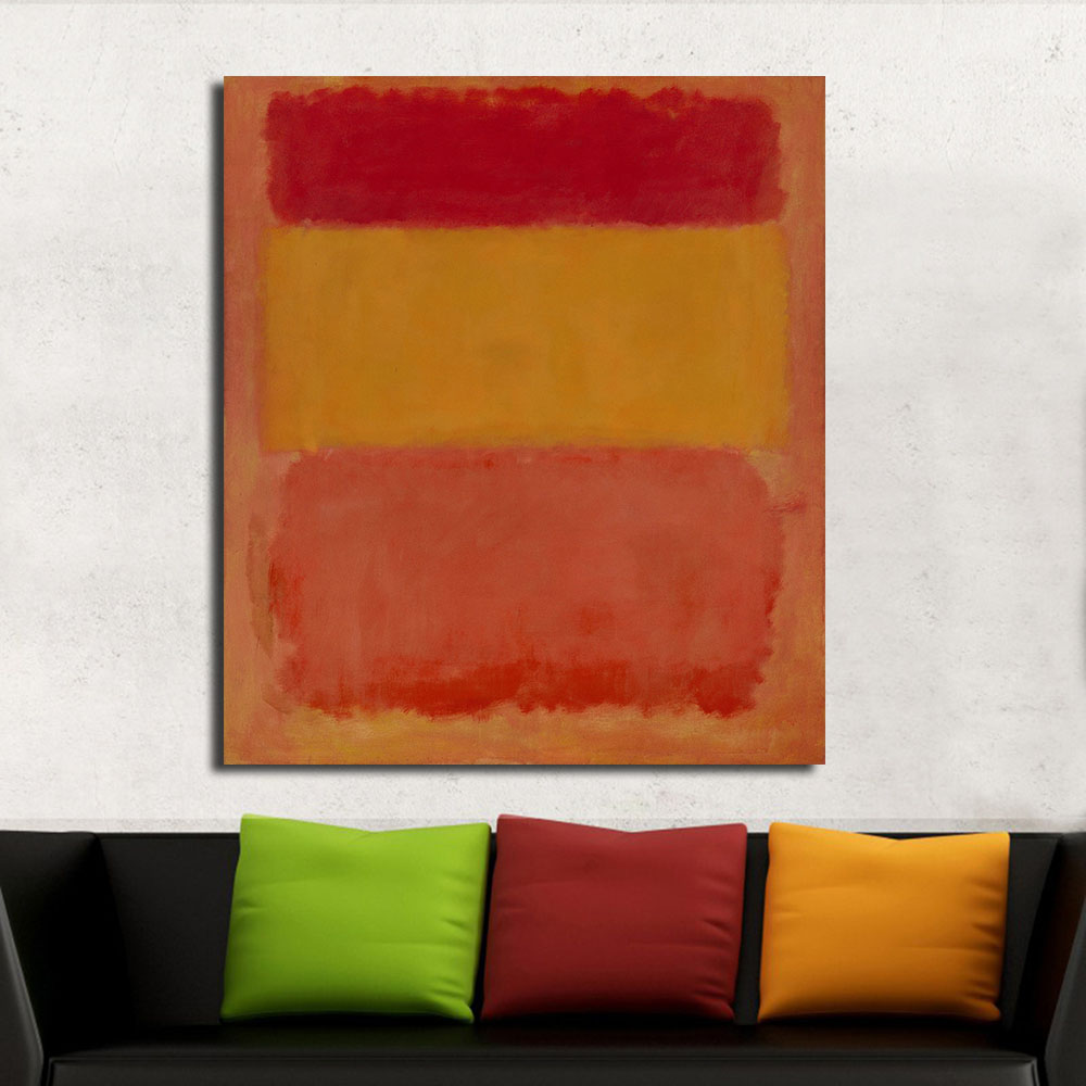 wang art mark rothko classical oil painting home decor picture living room modern canvas print wall