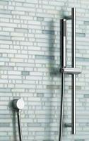 Free shipping Bathroom Slide Bar Hand Held Shower Bracket Holder Chrome Plated Head Holder shower pipe and spout SL008