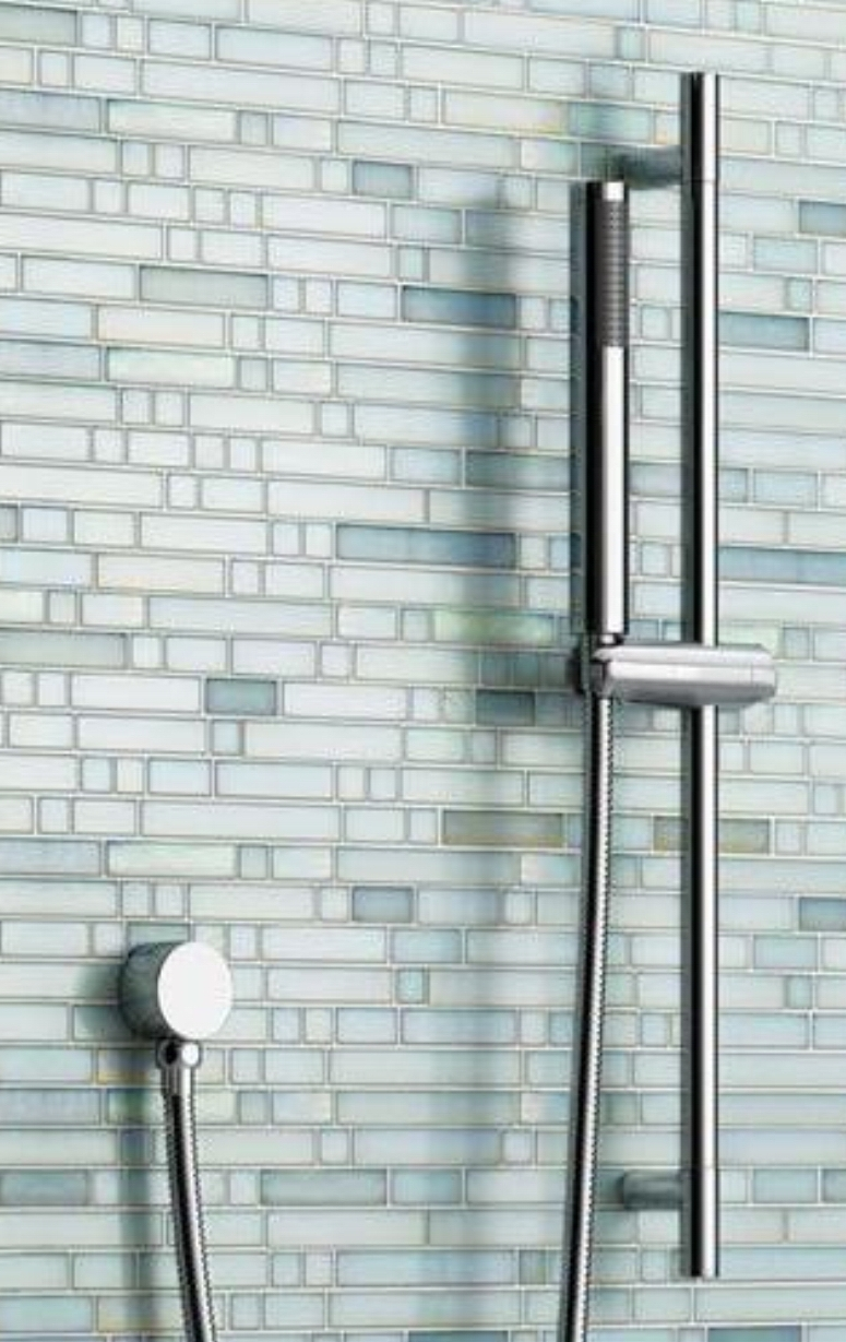 free shipping bathroom slide bar hand held shower bracket holder chrome plated head holder shower pipe