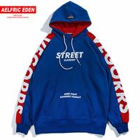 Aelfric Eden   Hoodies   Men 2018 Fashion Hoodie   Sweatshirt   Side Letter Printing Color Block Harajuku Moletom Casual Streetwear VE07