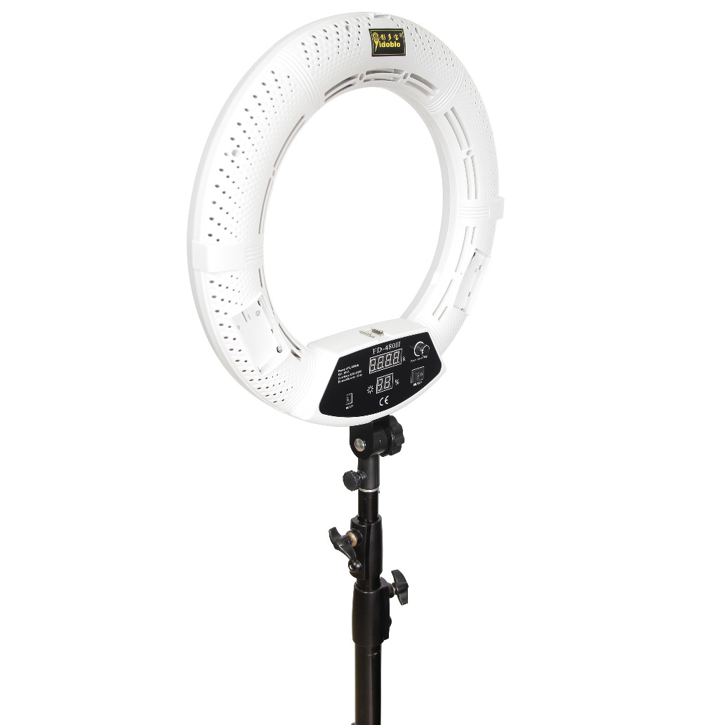 Yidoblo FD-480II blanc bi-couleur Photo Studio Macro Ring Light LED - Caméra et photo - Photo 2