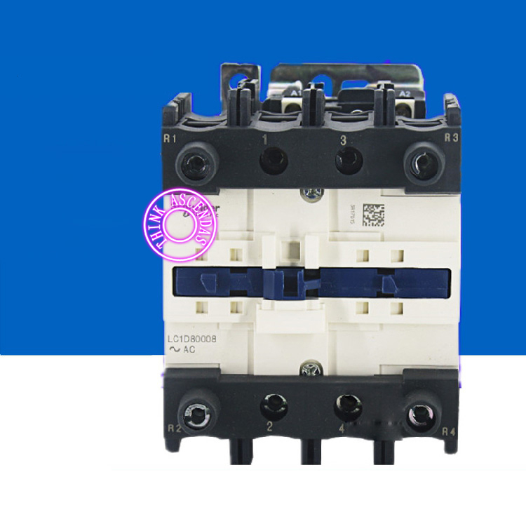 TeSys D Contactor LC1D80008B7 24V / LC1D80008C7 32V / LC1D80008CC7 36V / LC1D80008D7 42V / LC1D80008E7 48V / LC1D80008EE7 60V AC