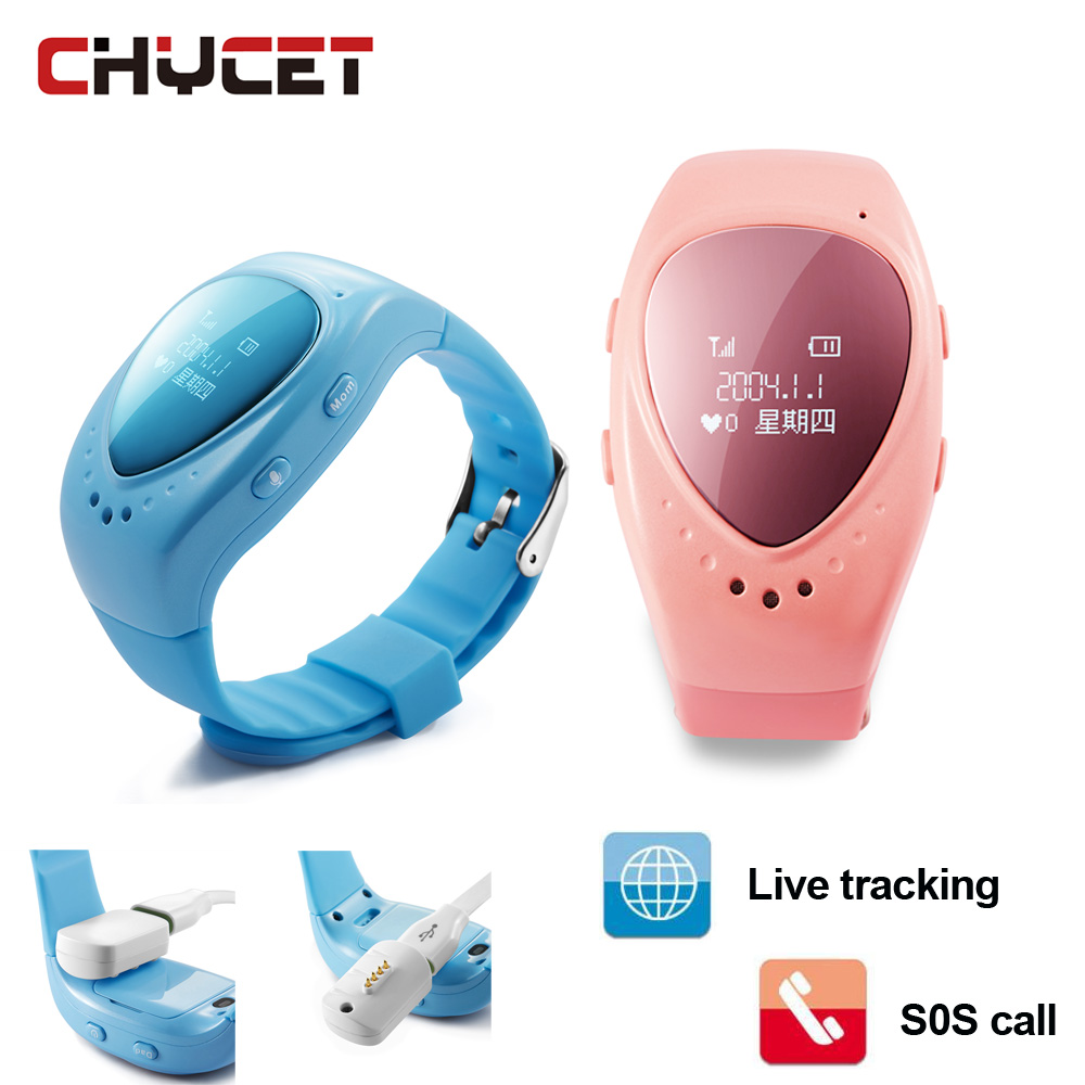 A6 GPS Tracker Watch for Kids Children Smart Watch with SOS button GSM phone support Android&IOS for Kid Safe Anti-Lost Monitor 1 2 inch android ios children smart watch phone s866 bluetooth sim gsm wifi lbs sos gps real time positioning tracker for kids