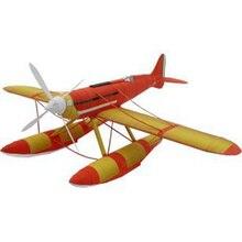 3D DIY 1:24 38cm Macchi M.C.72 Seaplane Plane Aircraft Paper Model Assemble Hand Work Handmade Kids Toys Gift