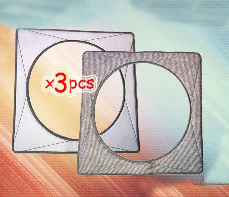 все цены на 3 pcs/lot Replacement Microfiber Cleaning Pads For ECOVACS Winbot W930 / W-S032 Ecovacs W930 Microfiber Mop Cloth онлайн