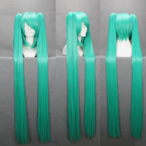 High Quality VOCALOID Cosplay Wig Hatsune Miku Play Wigs Halloween party Anime Game Hair