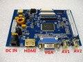 HDMI + VGA + 2 а. в. усилитель TTL lvds интерфейс hd промышленных ЖК-водитель борту